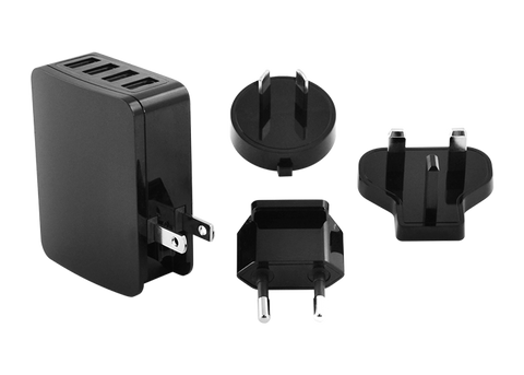 4-Way Universal AC Charger: Equinox