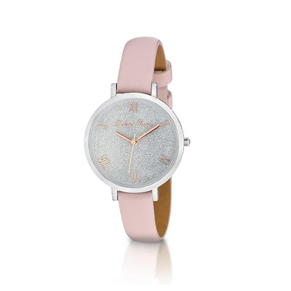 Chelsea Rose Silver Lily Watch