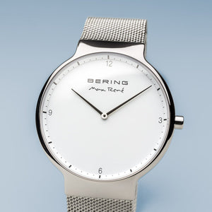 Bering Max René Silver 40 mm Men's Watches 15540-004
