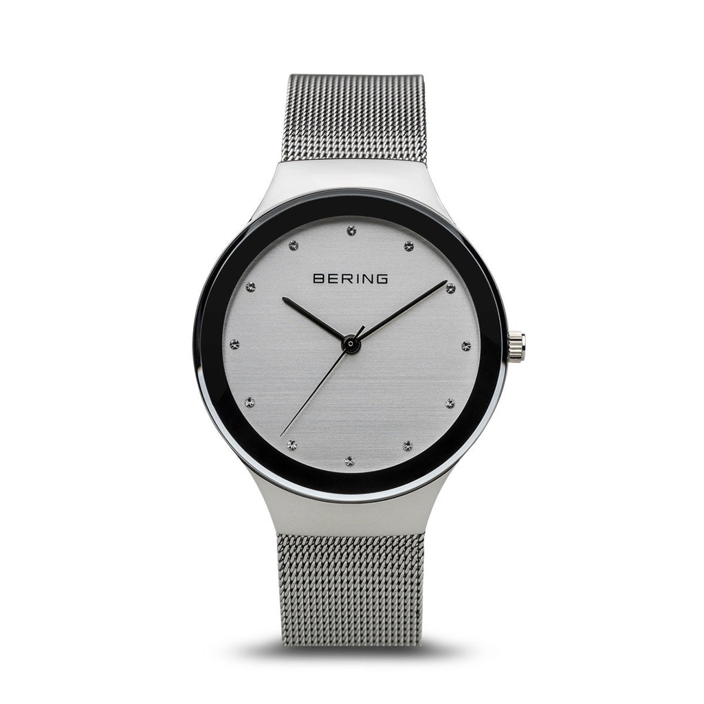 Bering Classic silver 34 mm female Watch (12934-000)