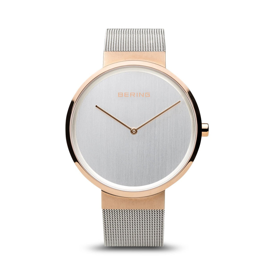 Bering Classic Rose Gold 39 mm Unisex Watches 14539-060