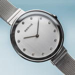 Bering Classic Silver 34 mm Women's Watches 12034-000