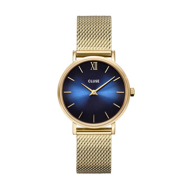CLUSE Minuit Midnight Blue Gold Mesh