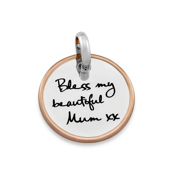 Candid 'Bless My Beautiful Mum' Pendant