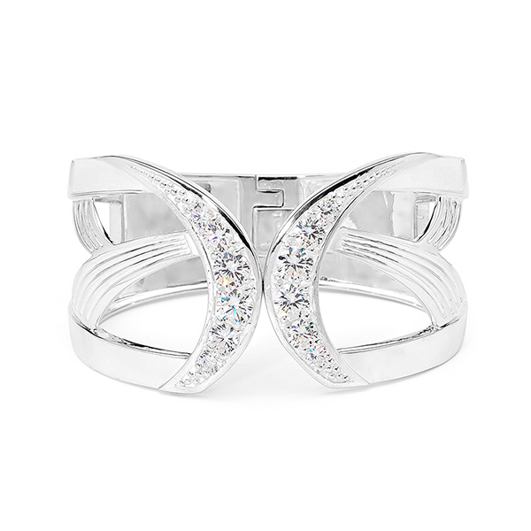 Elegance & Joy Flutter Hinge bangle