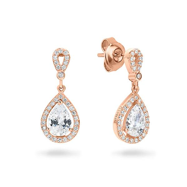 Georgini Libra Rose Gold Earrings
