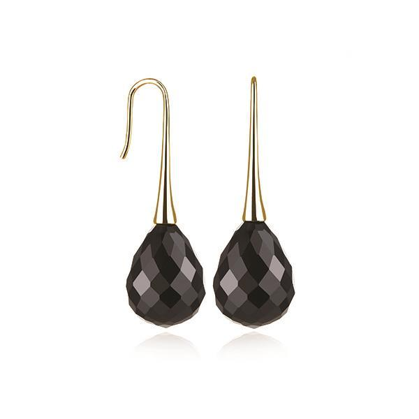 Kagi Gold Black Opera (Earrings)