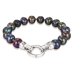 Kagi Peacock Pearl Bracelet (Medium)