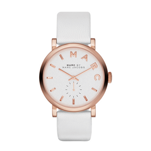 Marc Jacobs Baker White Watch