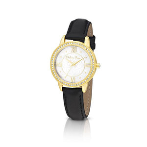 Chelsea Rose Gold-tone Clover Watch
