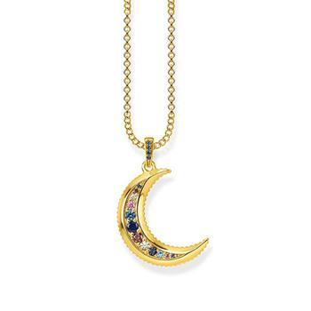 "THOMAS SABO Necklace ""Royalty Moon"" Gold"