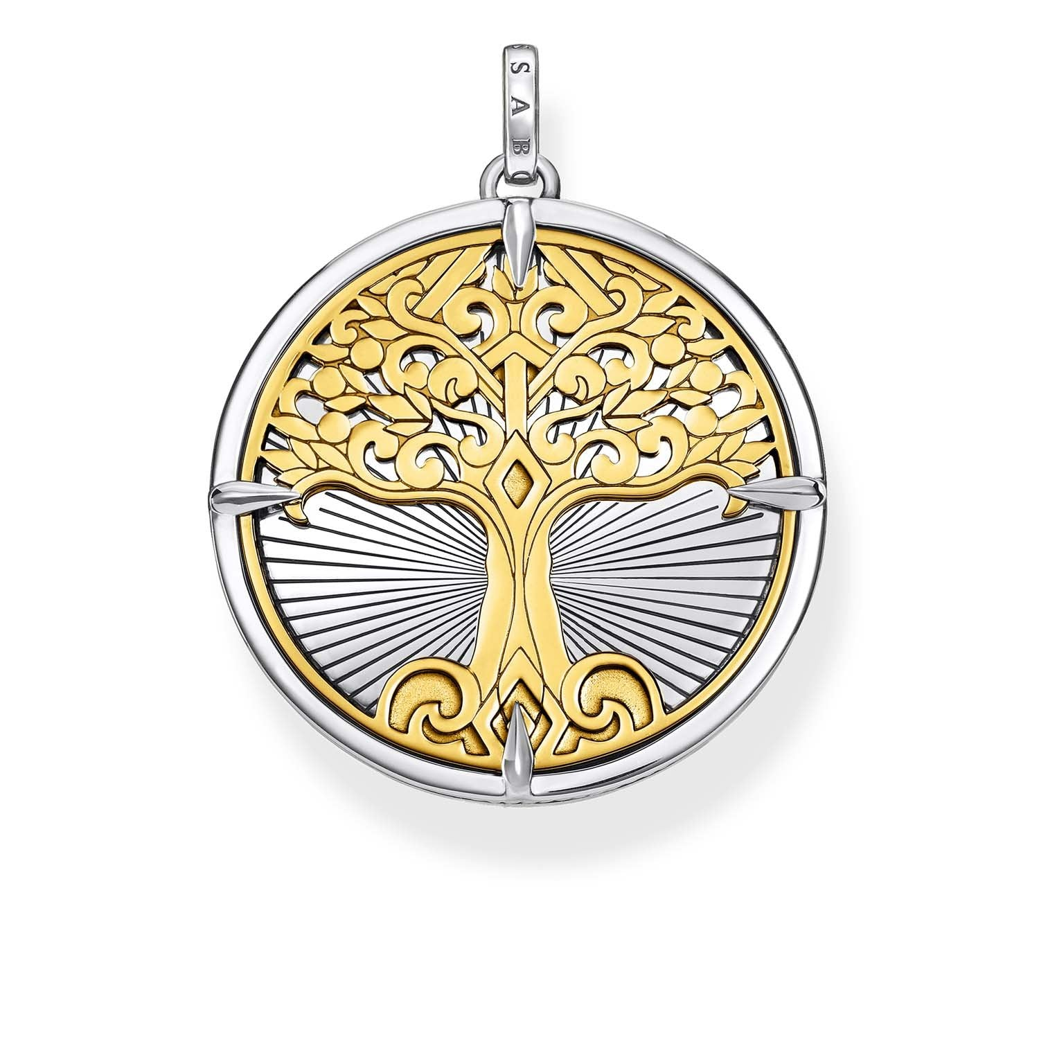 THOMAS SABO Pendant Tree Of Love Oxidised Gold