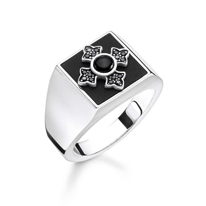 "THOMAS SABO Ring ""Royalty Cross"" Women"