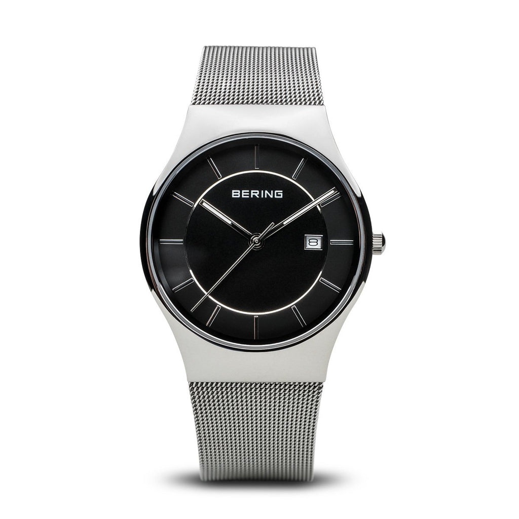 Bering Classic Silver 40 mm Men's Watches 11938-002