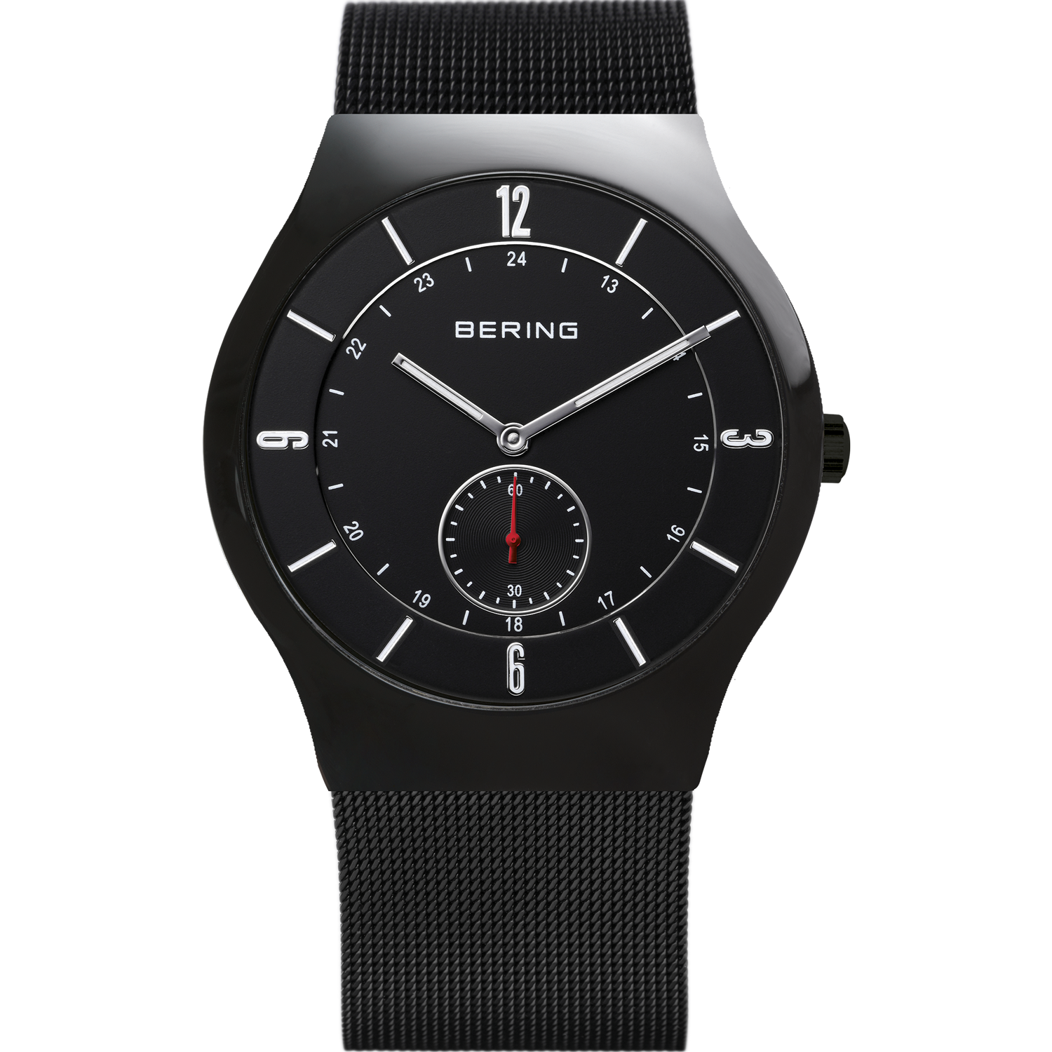 Bering Classic Black 40 mm Men's Watches 11940-222