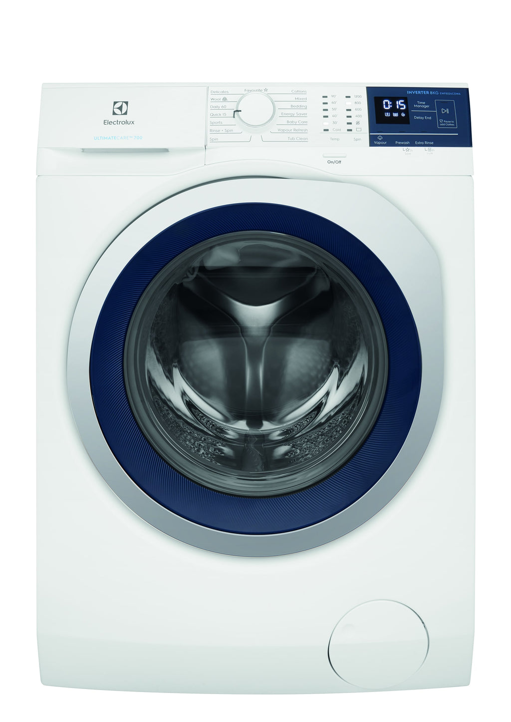 Electrolux 8KG Front Load Washer with Jetsystem