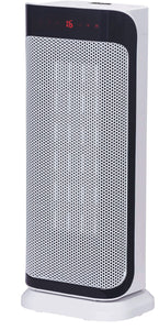 Ceramic Oscillating Fan Heater with Remote Control