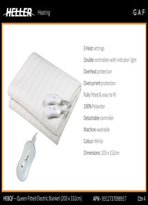 Heller Electric Blanket