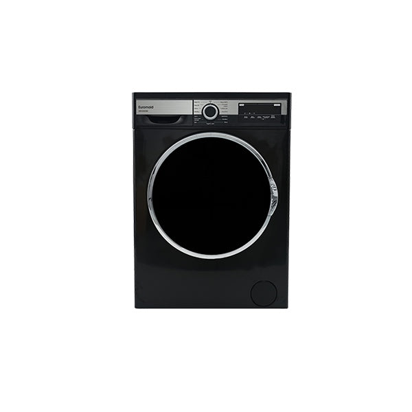 Euromaid EBFW900BK 9 kg Front Load Washer with Brushless DC Motor (Black)