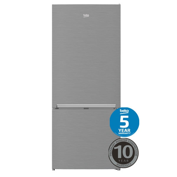 BEKO BBM450X 450L Bottom Mount Fridge/Freezer