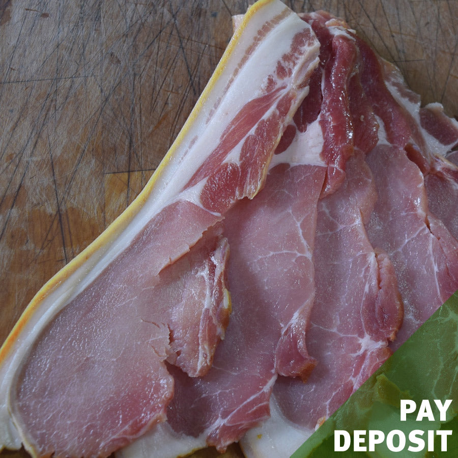 Smoked Back Bacon - <i>deposit</i>