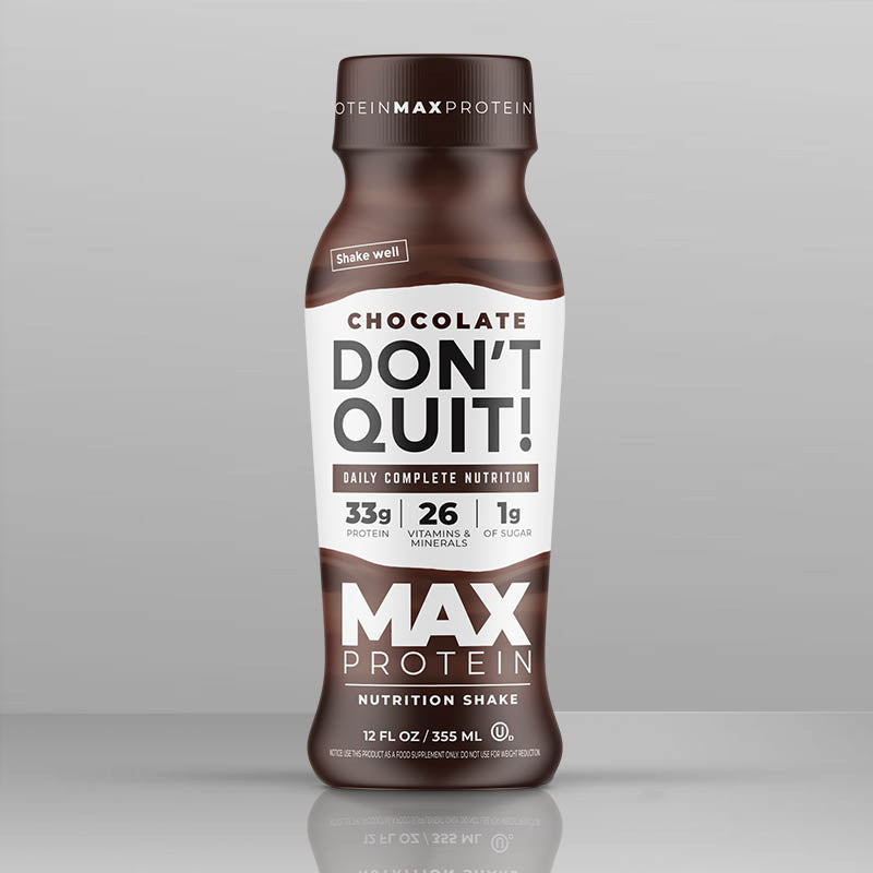 Don't Quit! - Max Protein - Chocolate