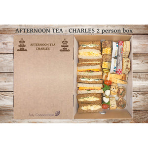 Afternoon Tea (V) - Charles (From £6.25 per person for a 4 person Box)