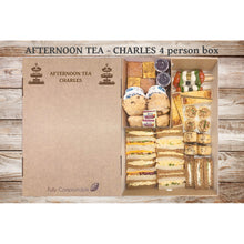 Load image into Gallery viewer, Afternoon Tea (V) - Charles (From £6.25 per person for a 4 person Box)