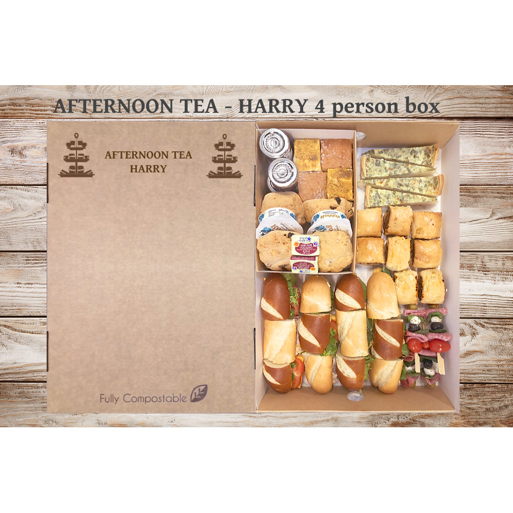 Afternoon Tea - Harry (From £6.49 per person for a 4 person Box)
