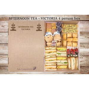 Afternoon Tea -Victoria (From £6.25 per person for a 4 person Box)