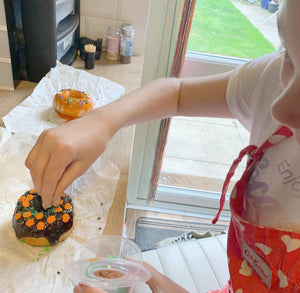 Halloween:  Decorate A Doughnut Box (8 Doughnuts)