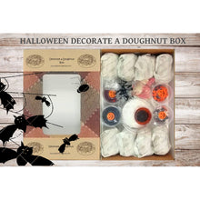 Load image into Gallery viewer, Halloween:  Decorate A Doughnut Box (8 Doughnuts)