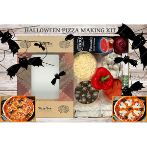 Halloween Pizza Making Kit (x4 10 Inch Pizzas)