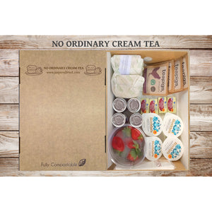 No Ordinary Cream Tea (x4 Giant 145g Scones) - 10% Off (Normally £14.99)