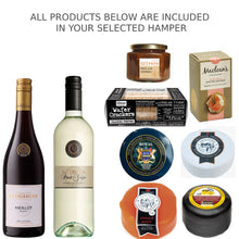Load image into Gallery viewer, Wine and Cheese Hamper