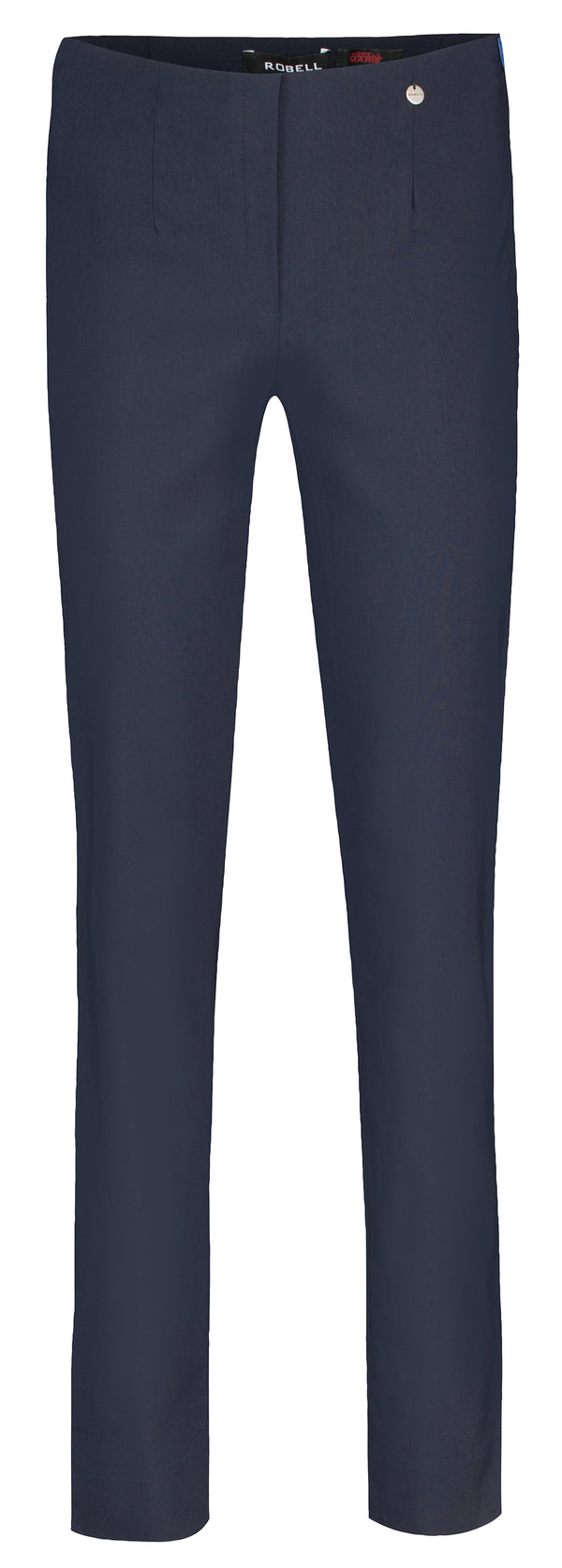 Navy Marie Full Length Trousers