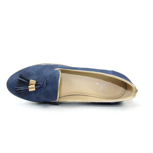 Rimini Wedge Tassel Loafer