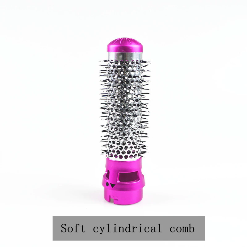 removable soft cylindrical comb head