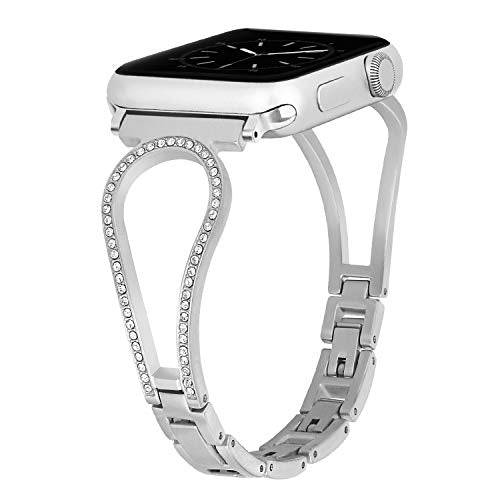 Inno-Huntz Bling Compatible with Apple Watch Bracelet