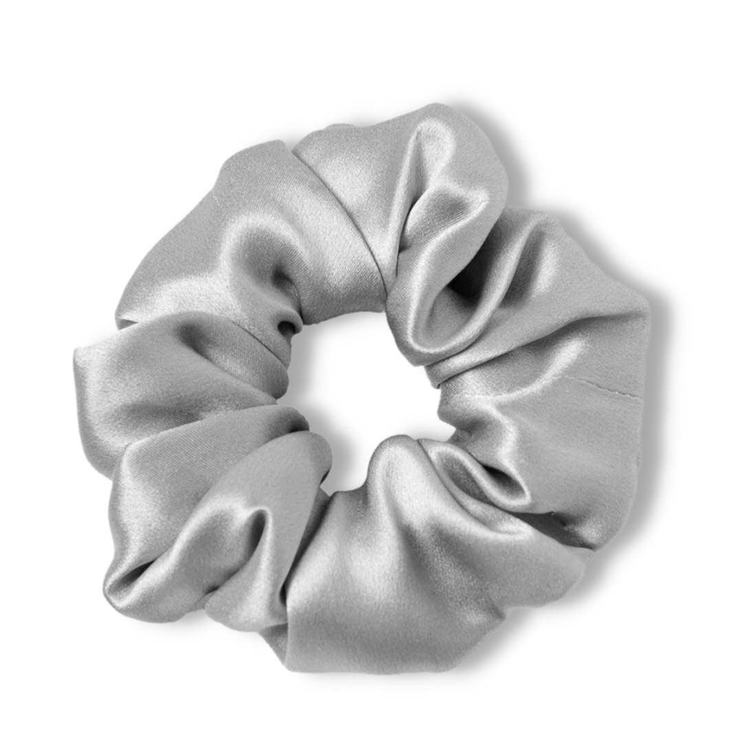 Luxury 100% Silk Scrunchies For Hair 15 Colors