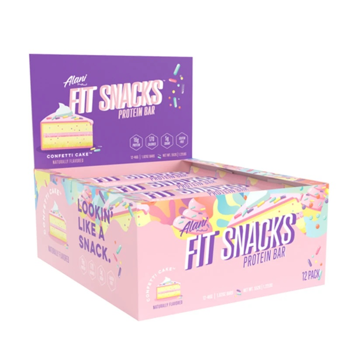 Alani Nu Fit Snack Bar Box of 12