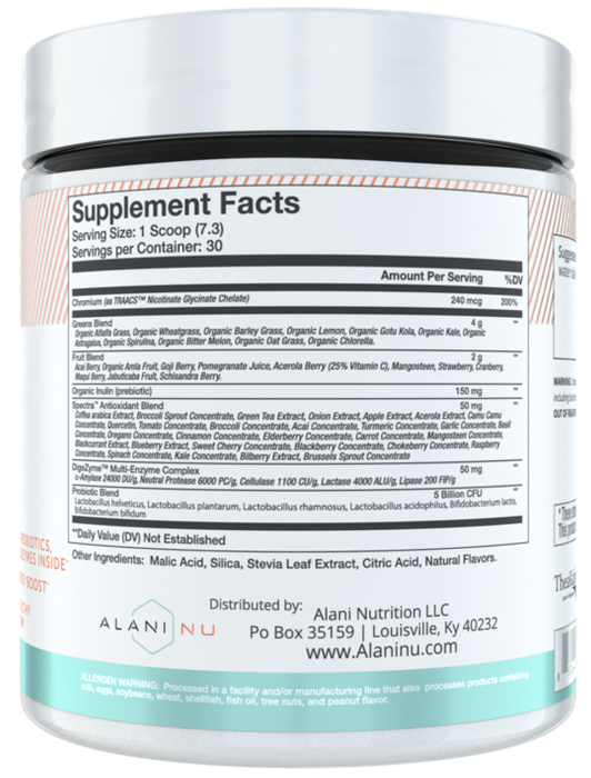 Alani Nu Super Greens 30 Servings