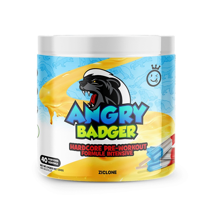 Yummy Sports Angry Badger Pre-Workout 40 Servings