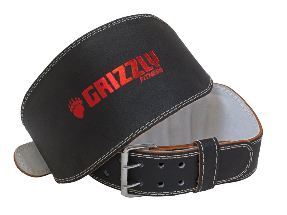 Grizzly Enforcer Leather Belt 6""