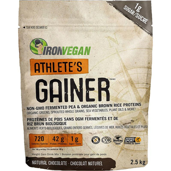 Iron Vegan Athletes Gainer 2.5kg