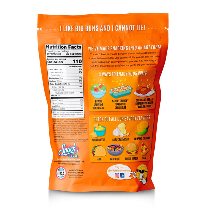 Snack House Protein Puffs Value Size