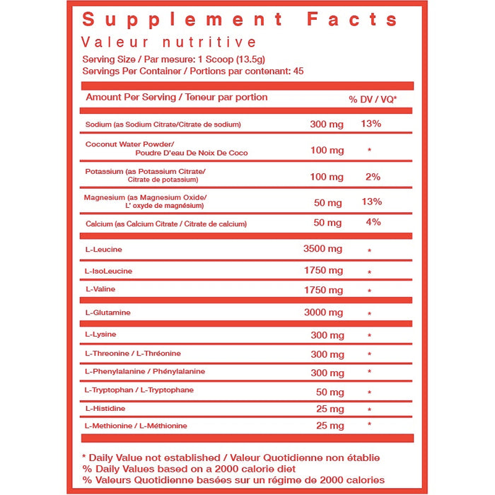 TC Nutrition Hydramino EAAs 100 Servings