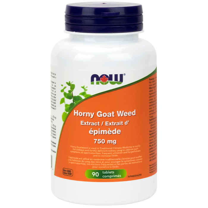 NOW Horny Goat Weed 90 Capsules