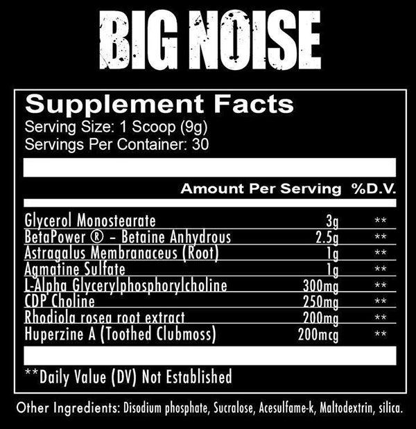 Redcon 1 Big Noise 30 Servings