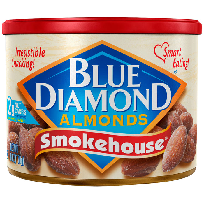 Blue Diamond Almonds Smokehouse, 6.0 OZ